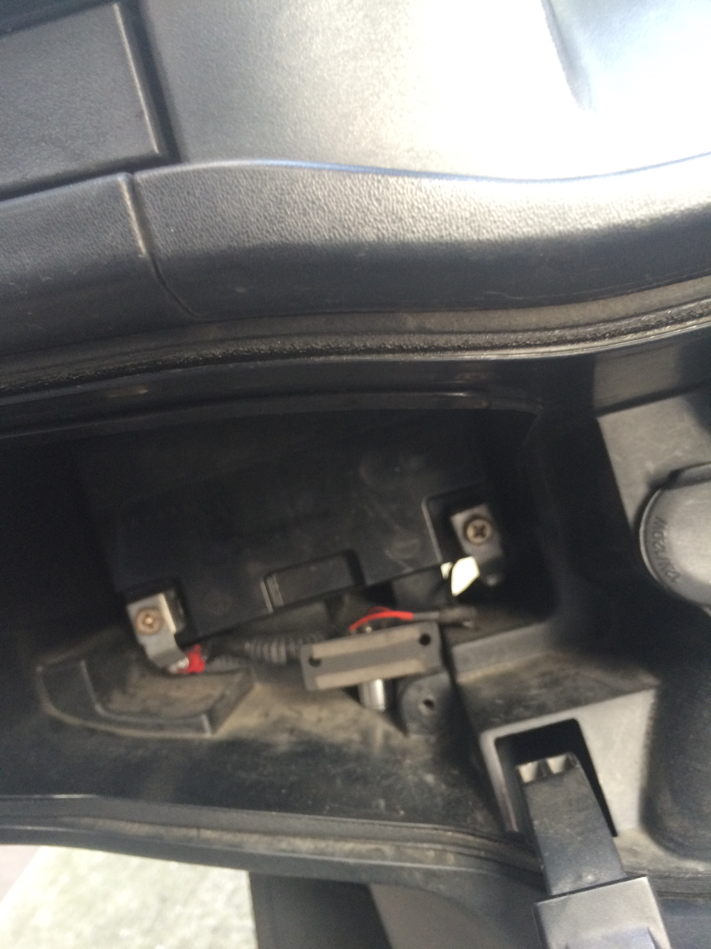 スカイウェイブCJ46A  バッテリー収納部