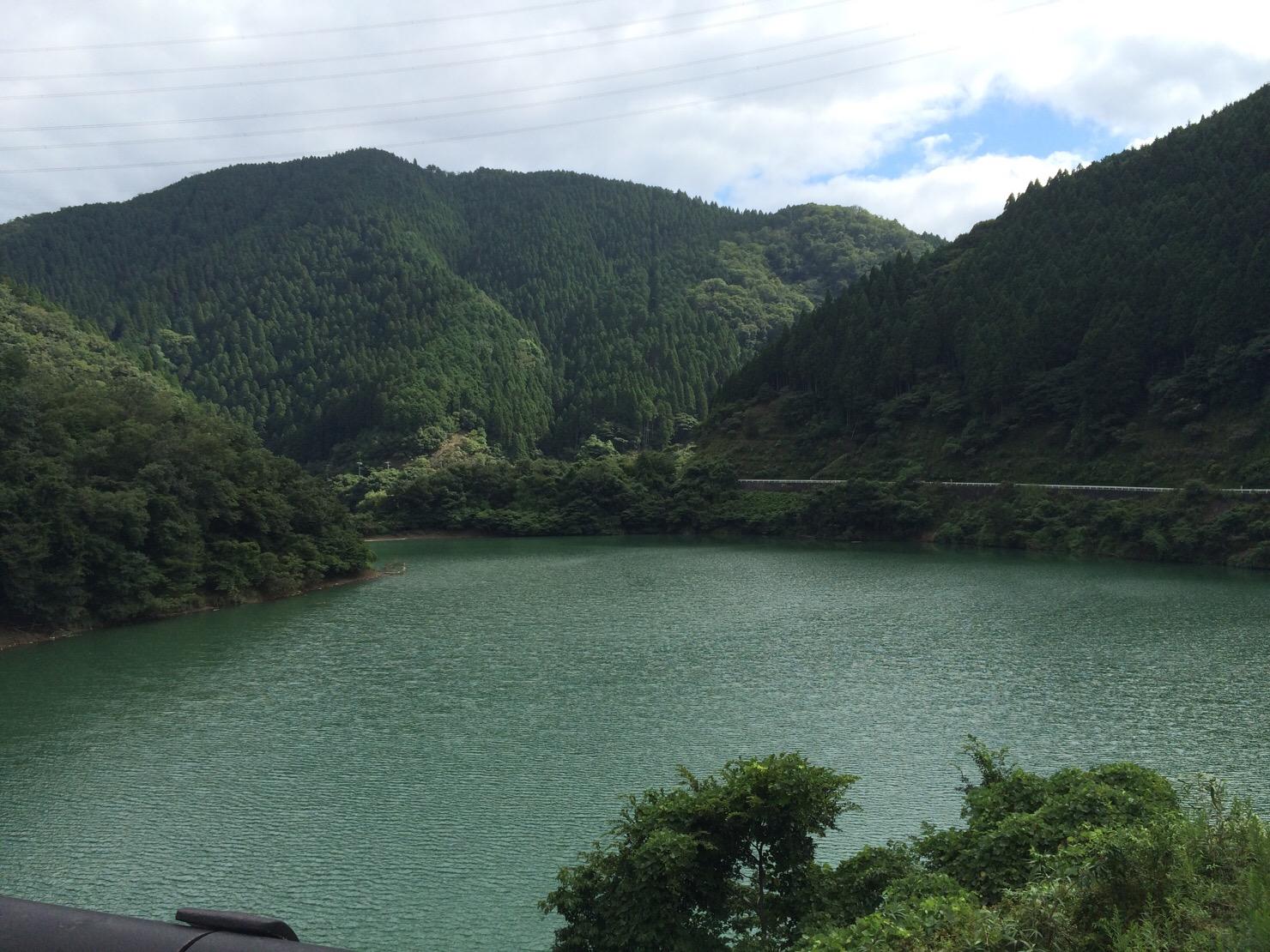 天若湖 日吉ダム